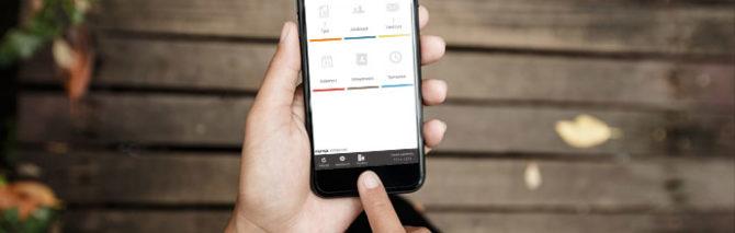 Hilkka™-mobiilisovellus kotiin annettaviin palveluihin