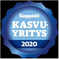 Kauppalehti Kasvajat-sinetti 2020