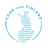 Code from Finland -logo