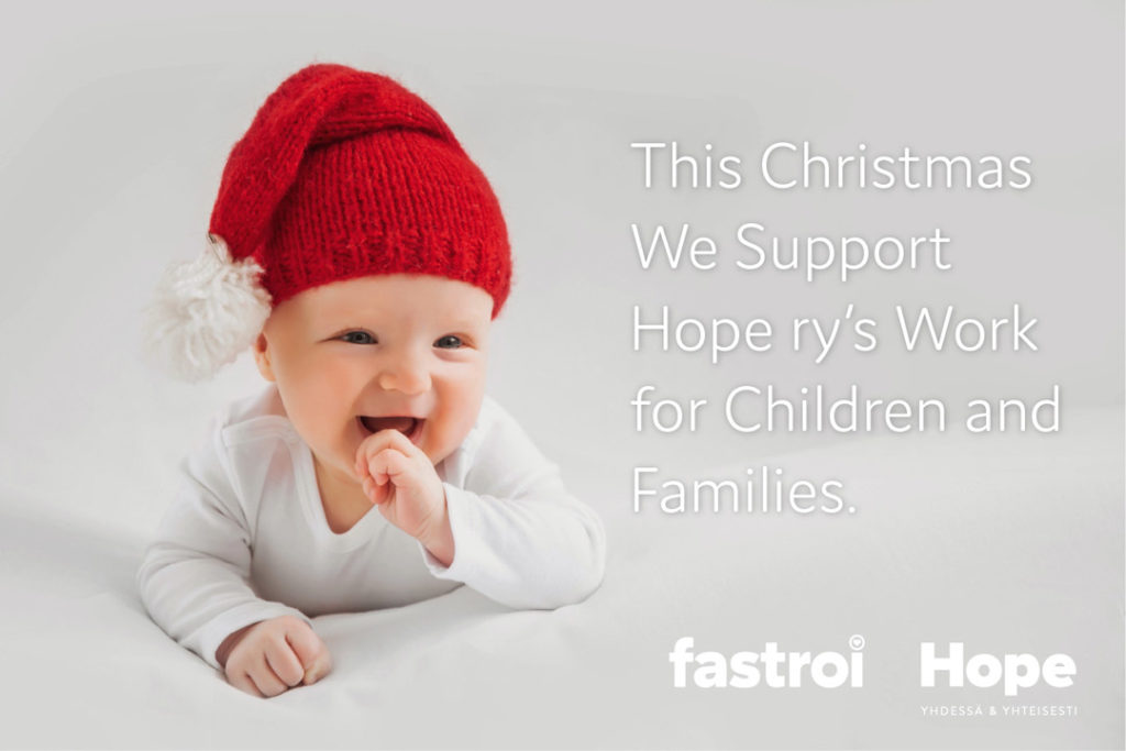 Fastroi supports Hope Finland.
