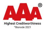 AAA highest Creditworthiness. Bisnode 2021